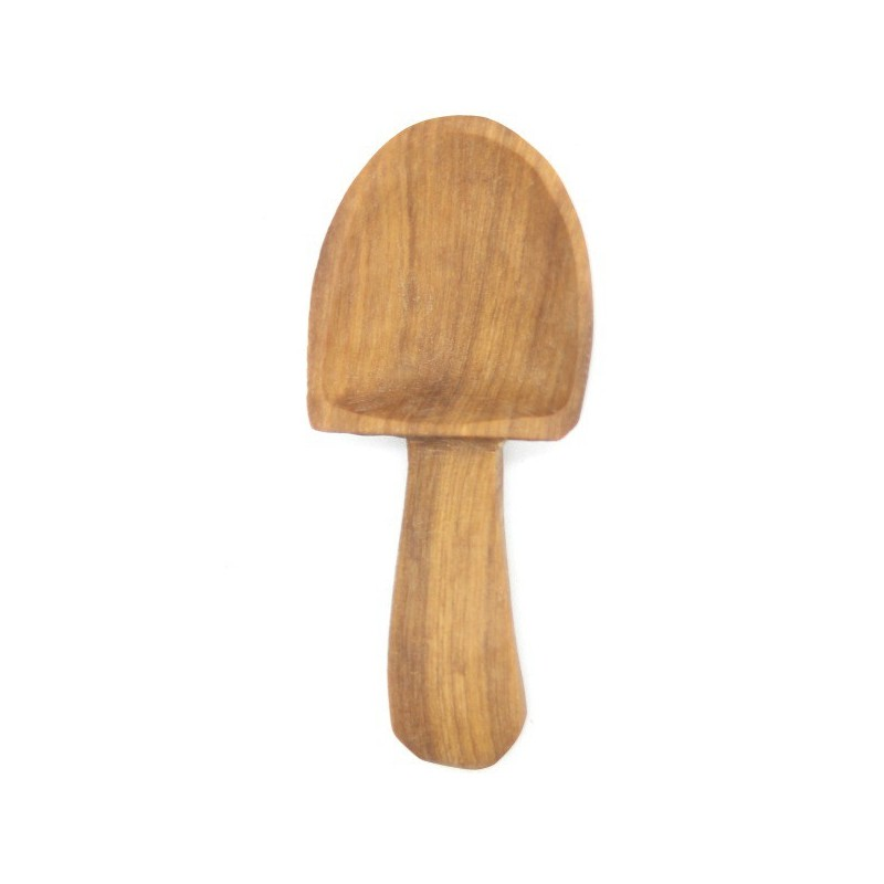 Olive Wood Scoop - Small