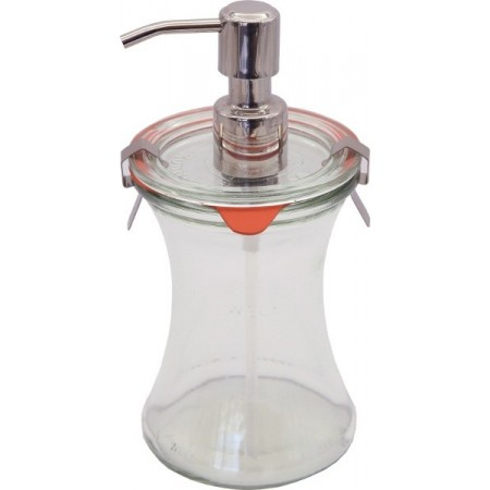 Weck Glass Jar Dispenser 370ml