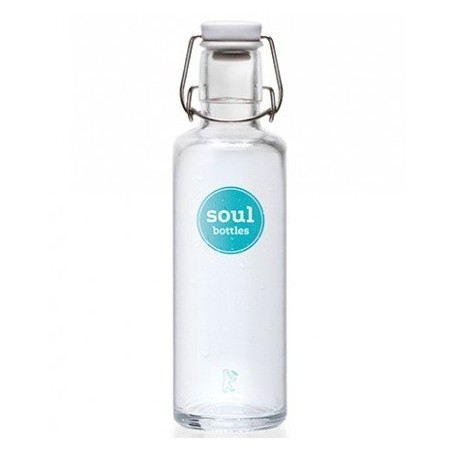 soulbottles Glass Water Bottle 0.6L - Basic