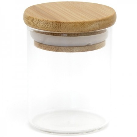 Glass Bamboo Spice Jar 75ml