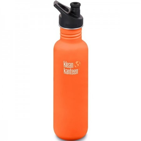 Klean Kanteen Classic Stainless Steel Water Bottle 27oz 800ml - Sierra Sunset (Klean Coat)