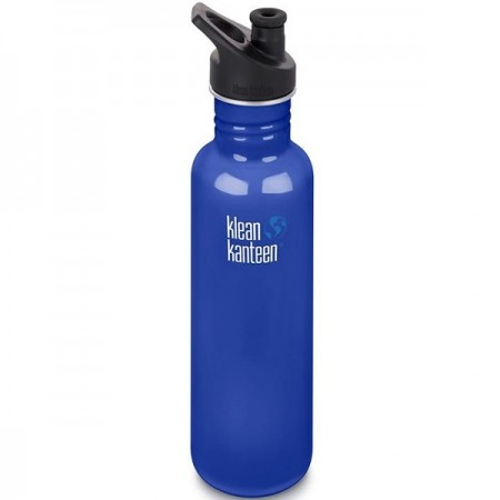 Klean Kanteen Stainless Steel Water Bottle 27oz 800ml - Coastal Waters (Klean Coat)