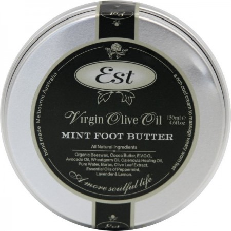 Est Olive Oil Mint Foot Butter