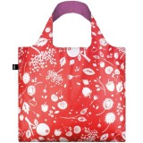 Loqi Reusable Shopping Bag - Seed Coral Bell
