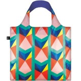 Loqi Shopping Bag - Geometric Triangles II