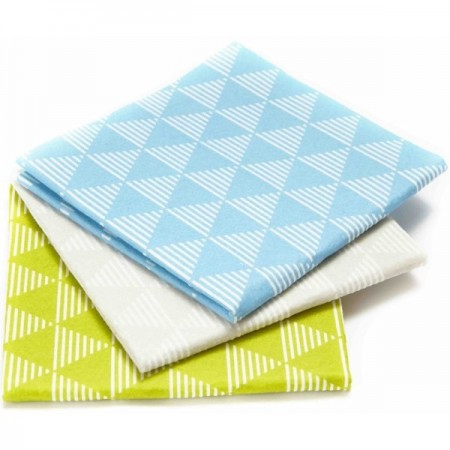 Full Circle Cellulose Pulp Friction Dusting Cloths 3pk