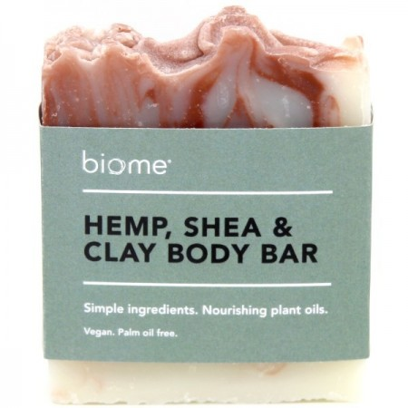 Biome Body Soap Bar - Hemp, Shea & Clay 110g
