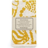 Mutska Linen Napkins (2) - Shoreline Yellow