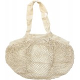 Organic Cotton String Carry Bag - Natural