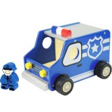 Wooden Kid's Toy Vehicle - Police Truck