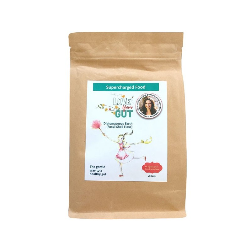 Supercharged Food Love Your Gut Diatomaceous Earth Powder 250g