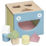 Micki Wooden Pastel Shape Sorting Box
