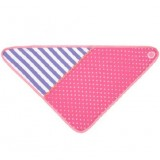 Apple Park Organic Farm Buddies Bandana Bib - Pink Polka Dots