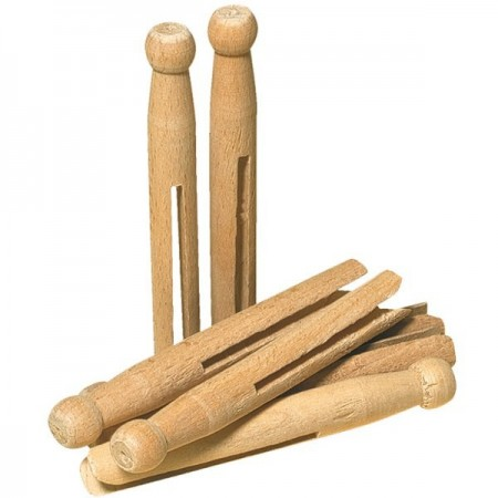 Redecker wooden old fashioned clothes pegs (pack of 25)