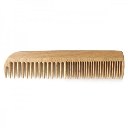 Wooden Wide & Fine Comb