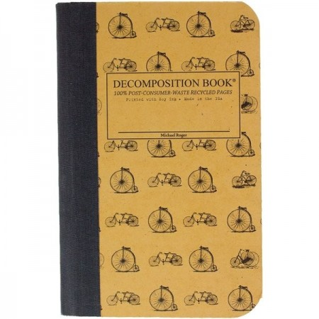 Decomposition Pocket Bound Notebook (Lined) - Vintage Bicycles