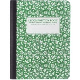 Decomposition Large Notebook - Parsley