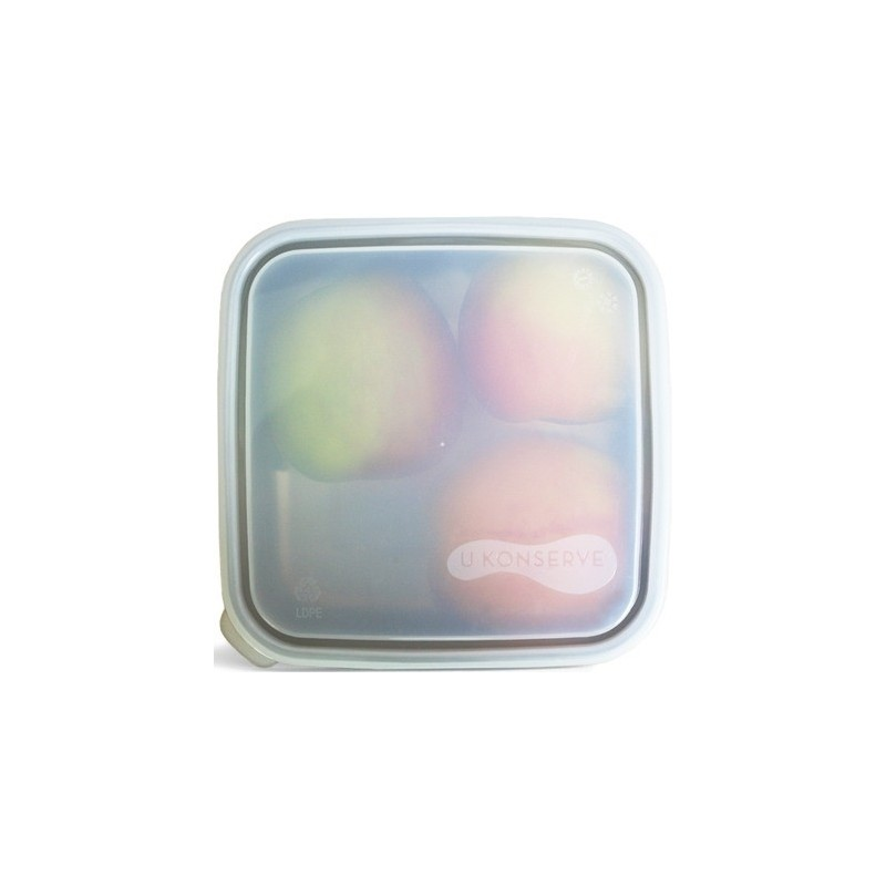 U Konserve To Go Replacement Lid - Large Square Clear 16.5cm x 16.5cm
