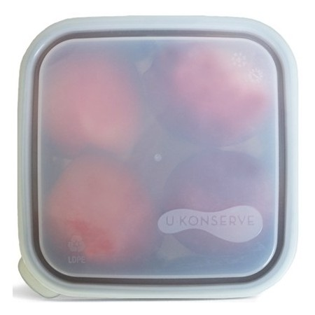U Konserve To Go Square Lid Medium CLEAR