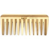 Bass Bamboo medium wide tooth comb