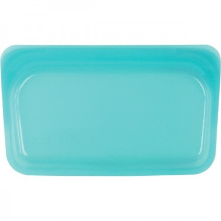 Stasher Silicone Snack Bag 293ml - Aqua