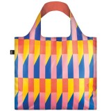 Loqi Reusable Shopping Bag - Geometric Stripes