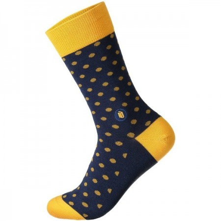Conscious Step Socks That Give Books (Polka) - Unisex