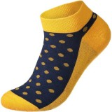 Conscious Step Socks That Give Books (Polka) - Mens Ankle