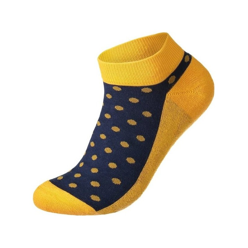 Conscious Step Socks That Give Books (Polka) - Ankle