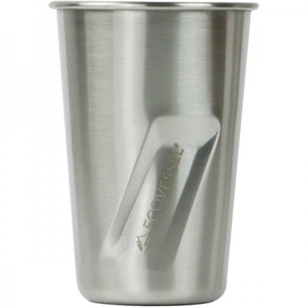 EcoVessel Stainless Steel Pint Cup - The Stout