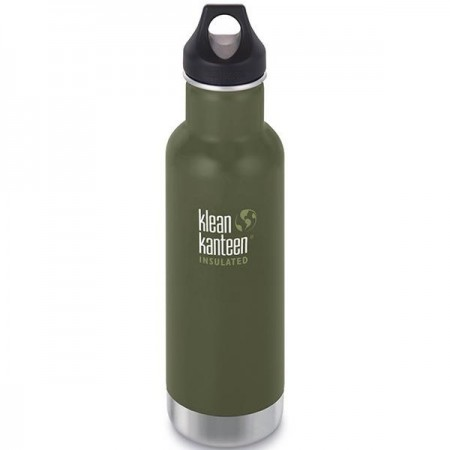 Klean Kanteen Classic Insulated Water Bottle 20oz 592ml - Fresh Pine (Klean Coat)