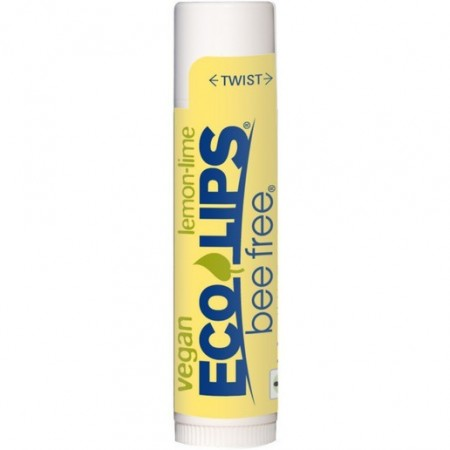 Eco Lips Bee Free Vegan Lip Balm - Lemon Lime 4.25g