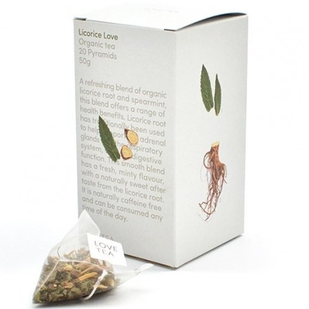 Love Tea Organic Tea Bags 50g - Licorice Love