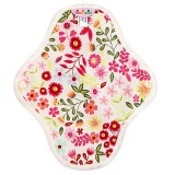 Hannahpad Cloth Panty Liner 2pk - Flower Garden Pink