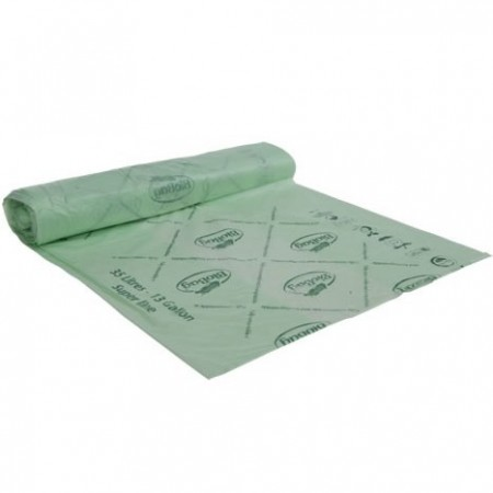 BioBag Superline biodegradable plastic bin liners 35 litre (40 bags)