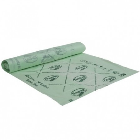BioBag Superline biodegradable plastic bin liners 50 litre (32 bags)