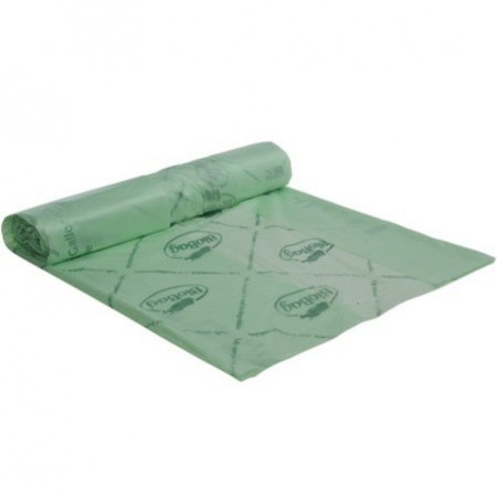 BioBag Superline biodegradable plastic bin liners 140 litre (16 bags)