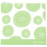 Lunchskins Medium Reusable Zip Bag - Green Fruit