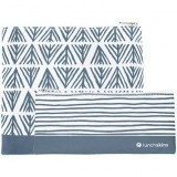 Lunchskins Zippered Sandwich and Snack Bag Set � Grey Geometric