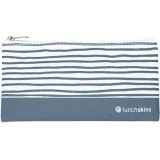 Lunchskins Small Reusable Zip Bag - Grey Geometric