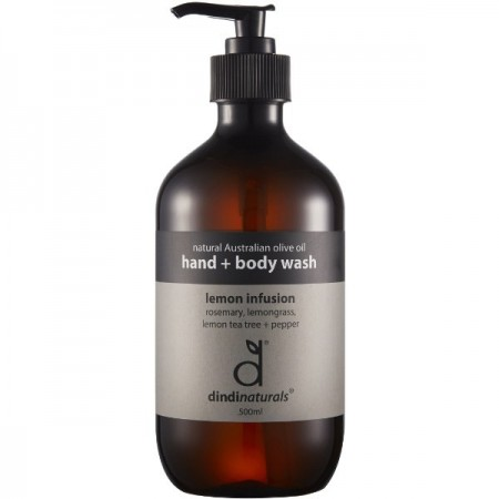 Dindi Palm Oil Free Hand & Body Wash - Lemon Infusion