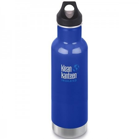 Klean Kanteen Classic Insulated Water Bottle 20oz 592ml - Coastal Waters (Klean Coat)
