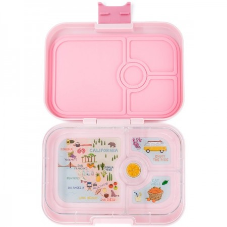 Yumbox Lunch Box - Panino 4 Compartment Hollywood Pink