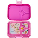 Yumbox Lunch Box - Panino 4 Compartment Malibu Purple