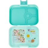 Yumbox Lunch Box - Panino 4 Compartment Surf Green