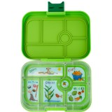 Yumbox Lunch Box - Original 6 Compartment Avocado Green