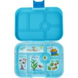 Yumbox Lunch Box - Original 6 Compartment Blue Fish