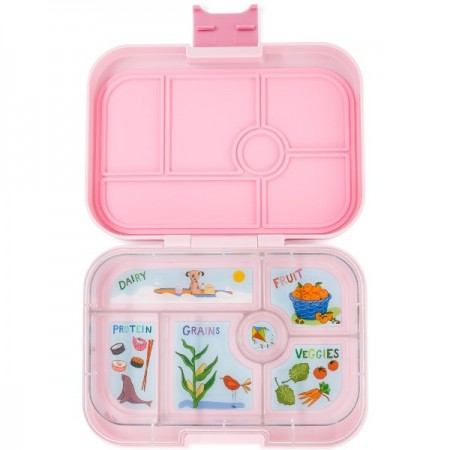 Yumbox Lunch Box - Original 6 Compartment Hollywood Pink