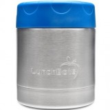 LunchBots insulated stainless steel container 235ml 8oz - blue