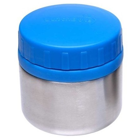 LunchBots Leak Proof Rounds 235ml 8oz - blue